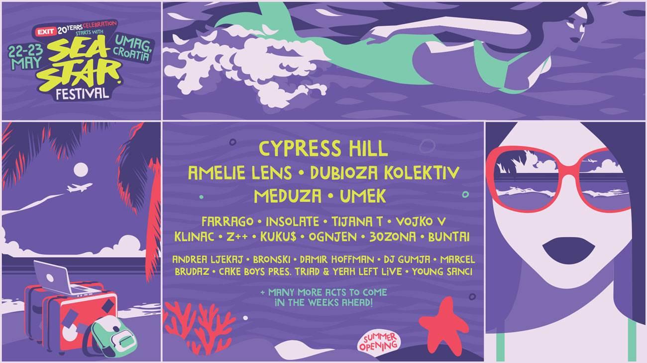 sea star, cypress hill