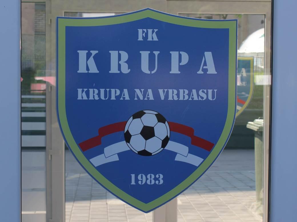 FK Krupa stadion, stadion Krupe