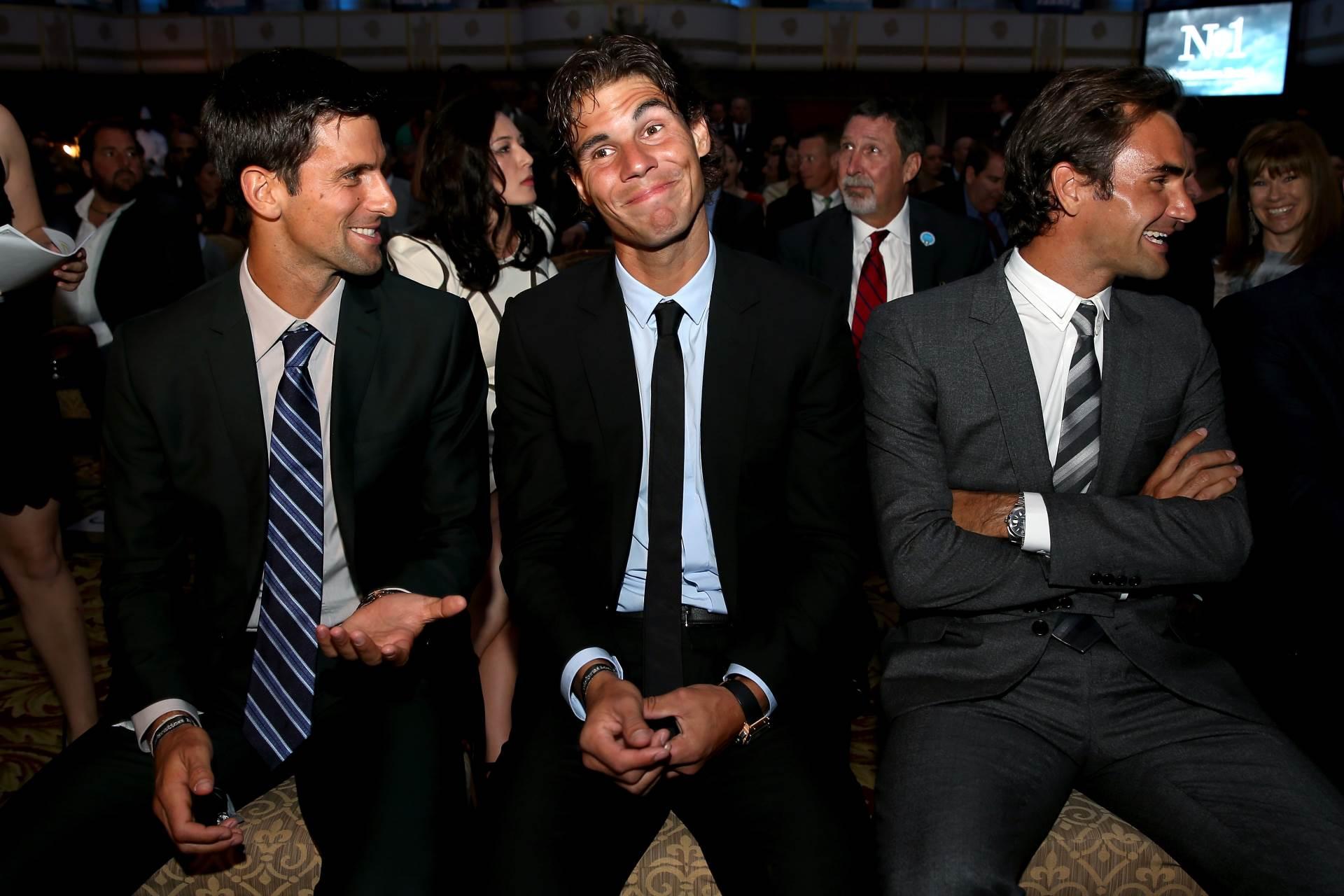 Đoković, Nadal, Federer