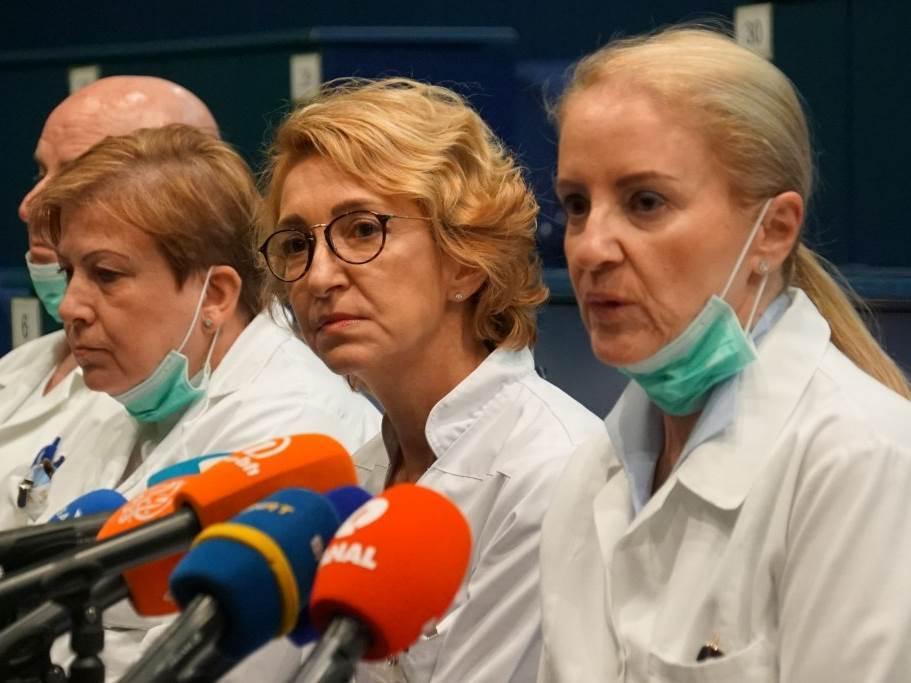 UKC Sarajevo, doktori, korona virus