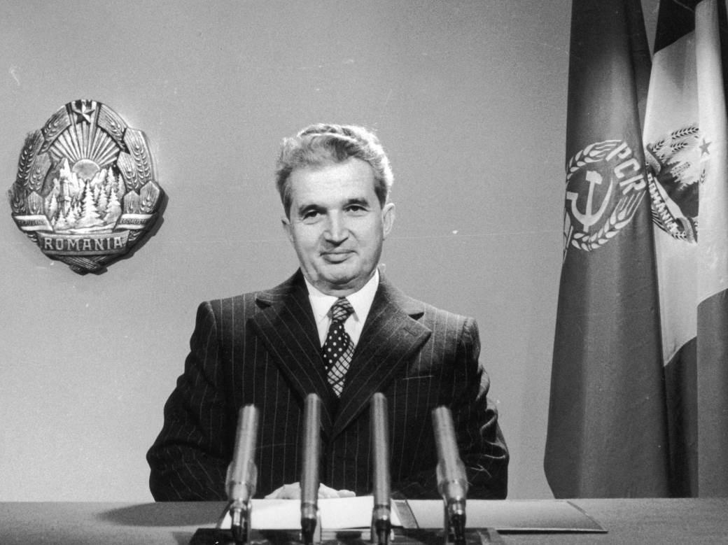 Nikolaje Čaušesku - predsednik Rumunije od 1965. do 1989. godine.