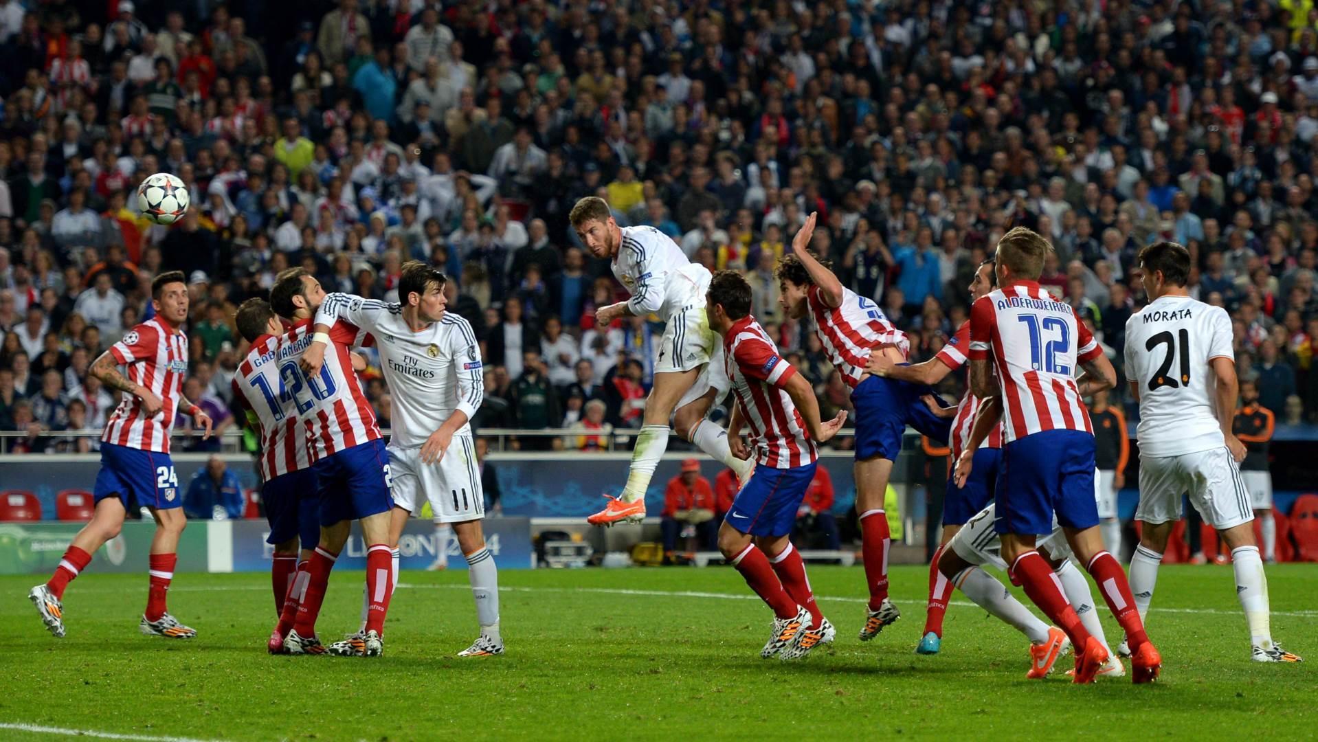 Atletiko Madrid, Real Madrid, Serhio Ramos