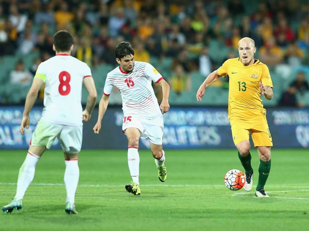 Kvalifikacije za Mundijal u Rusiji, Tadžikistan vs Australija.