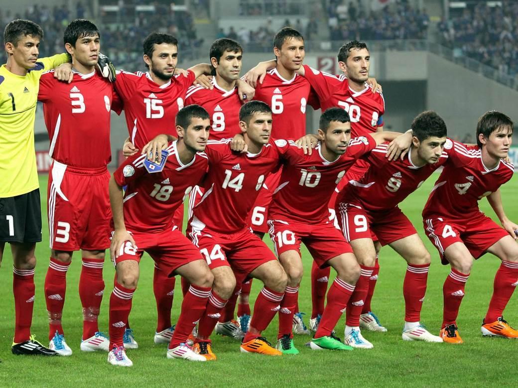 Reprezentacija Tadžikistana 2011. godine.