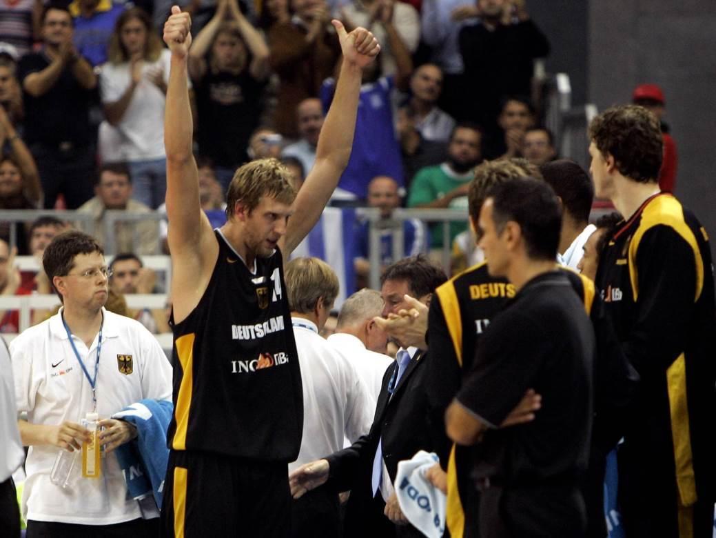 grčka, nemačka, eurobasket 2005, nowitzki, novicki