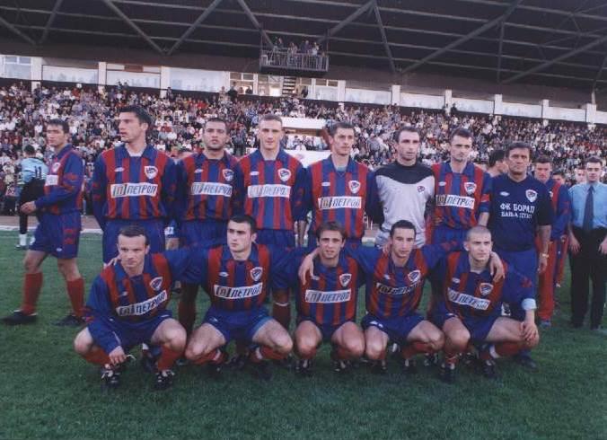Borac - Partizan 0:4, prijateljska utakmica 2001.