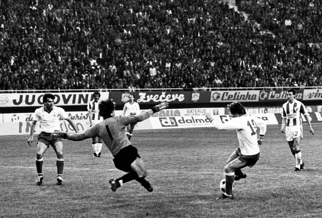 Hajduk - Zvezda 1980.