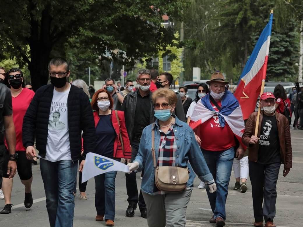jugoslavija, antifašisti, sarajevo