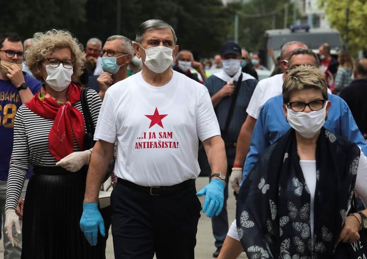 sarajevo, antifašisti, protest