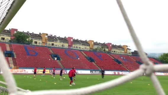 Trening FK Borac