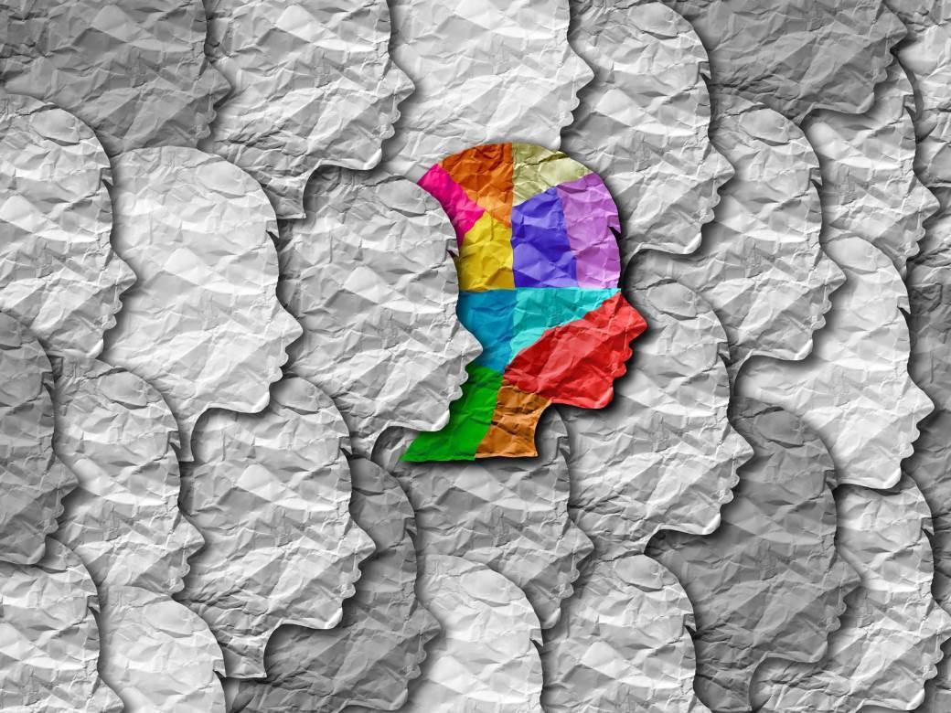 razlika, boje, ljudi, masa, gomila, autizam