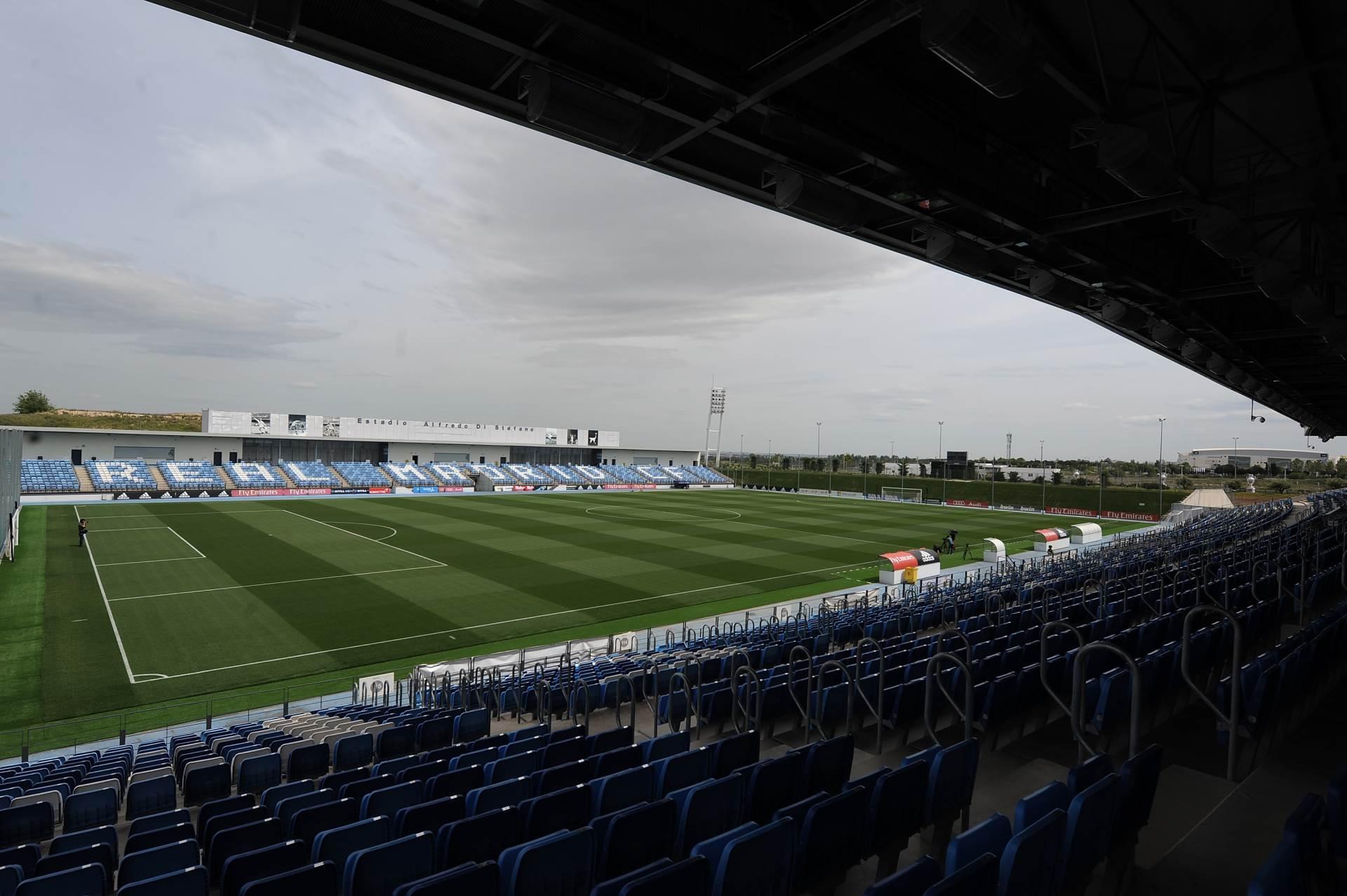 Real Madrid stadion Alfredo di Stefano