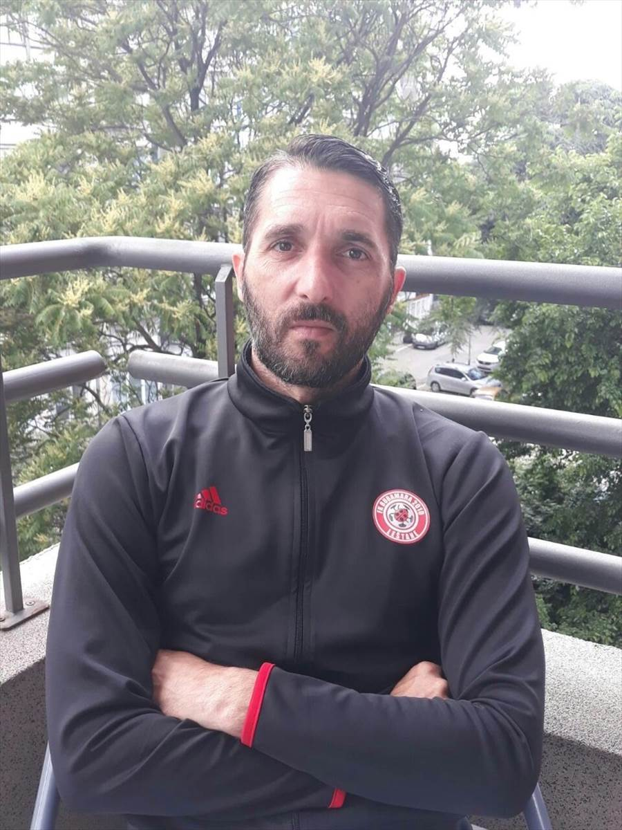 Nenad Purke Stojanović, fudbal