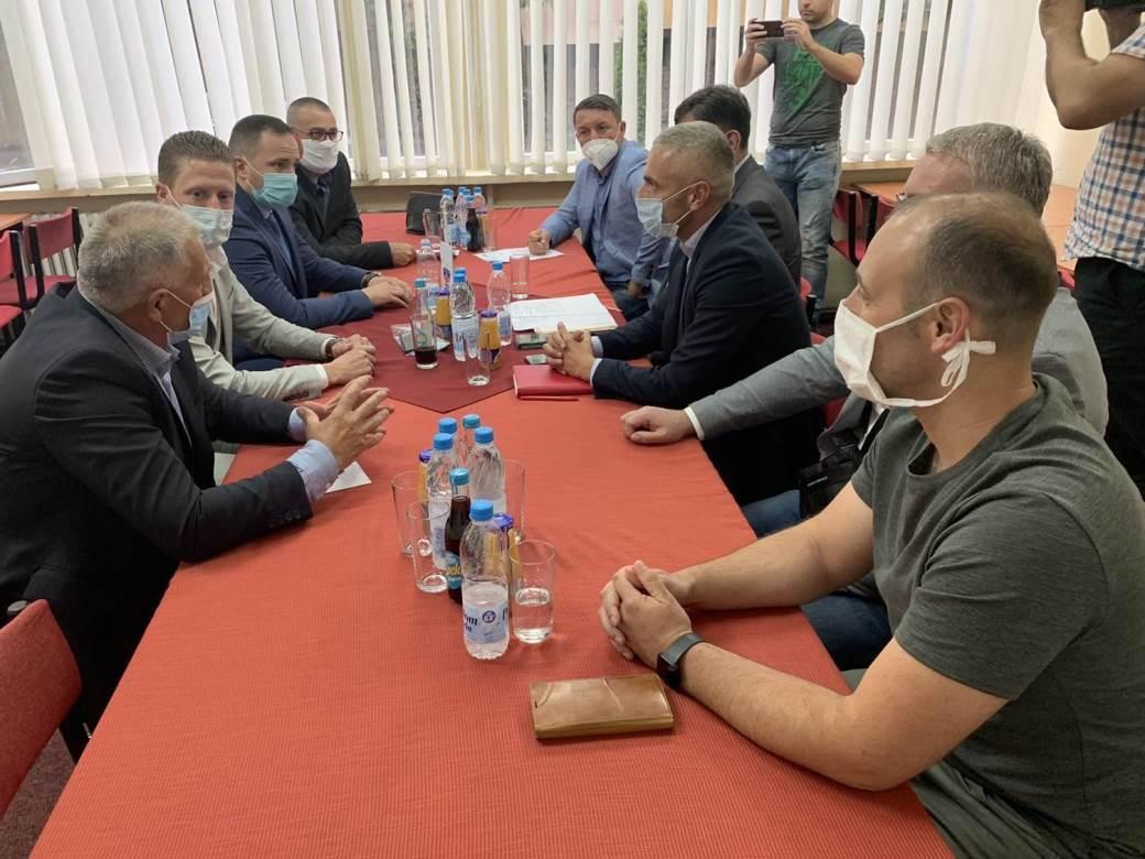 Vico Zeljković, fudbal, Fudbalski savez RS