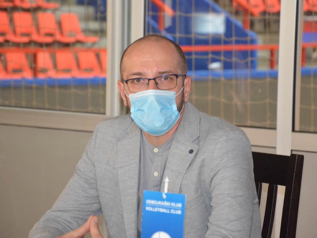 Vojislav Opačić, BL Volej, odbojka