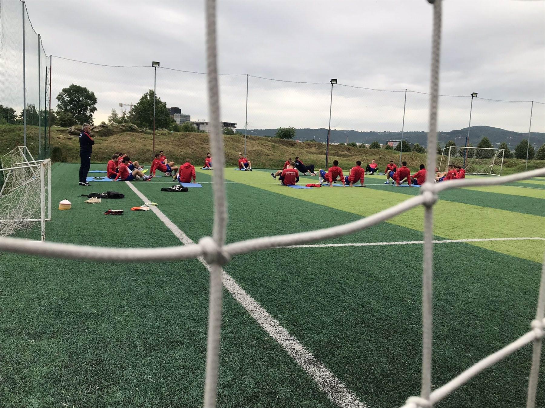 trening, FK Borac