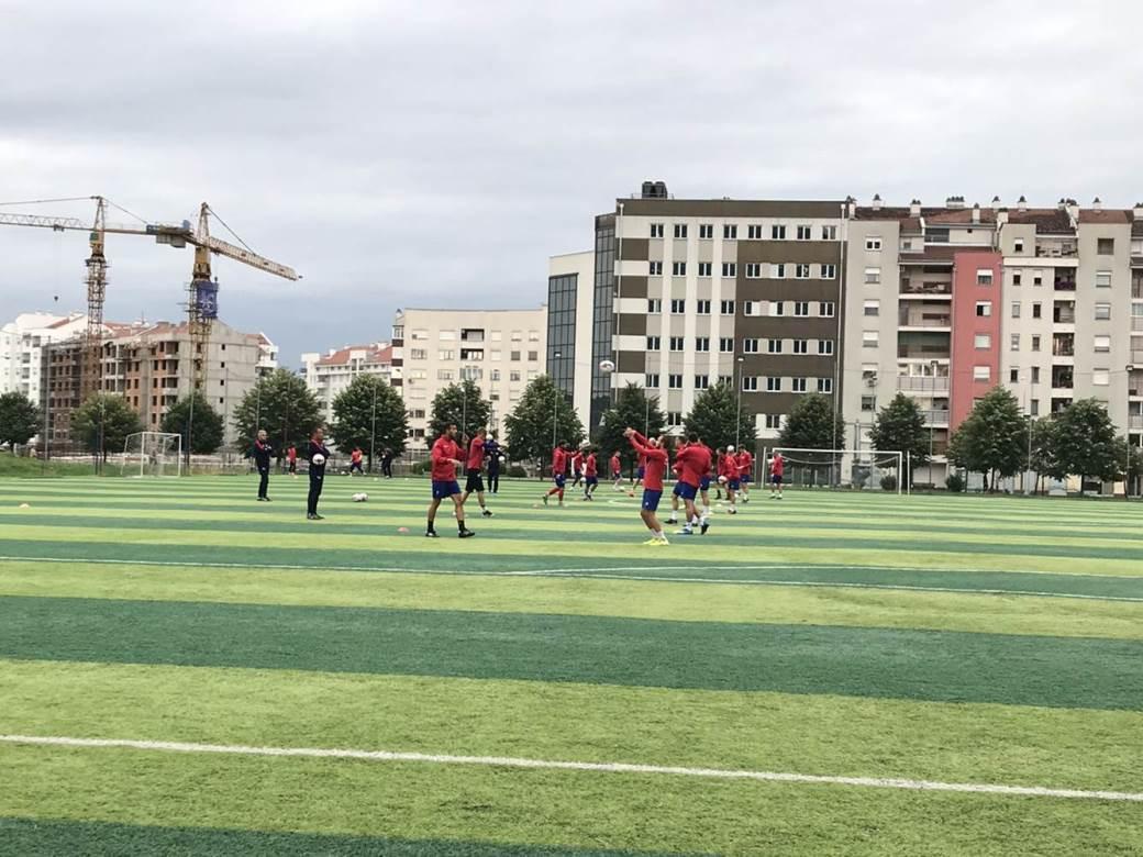 FK Borac, trening
