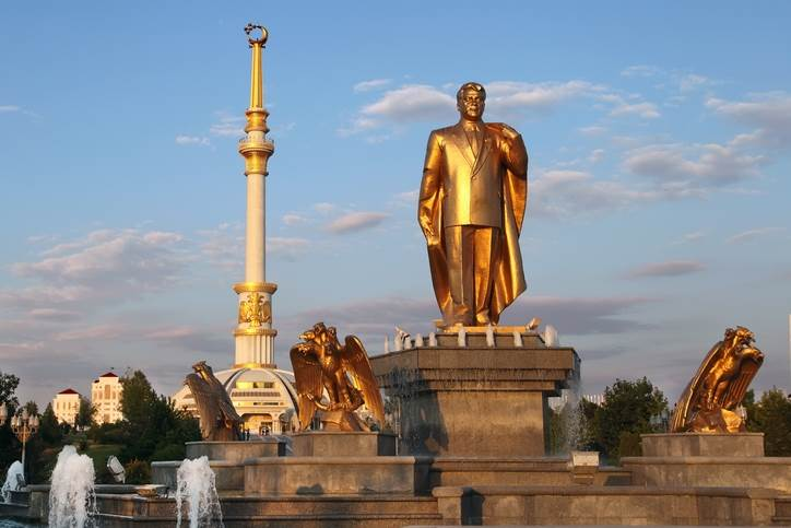 Aškabad, Saparmurat Nijazov, Turkmenistan