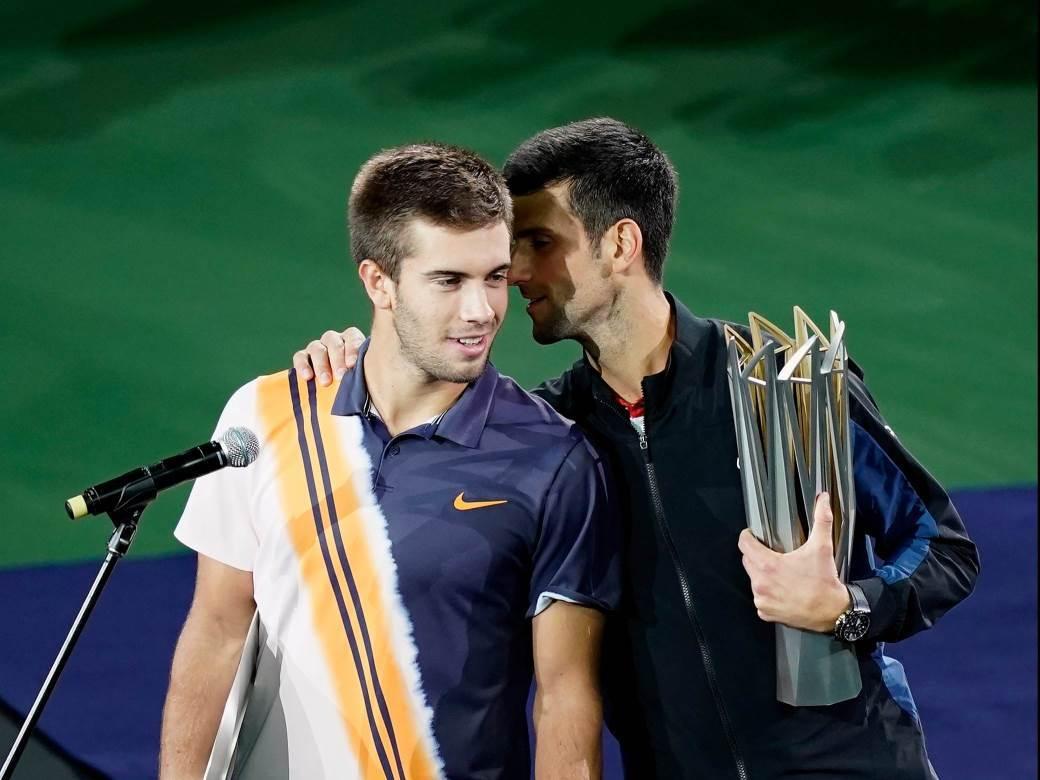 Novak Djokovic Borna Coric