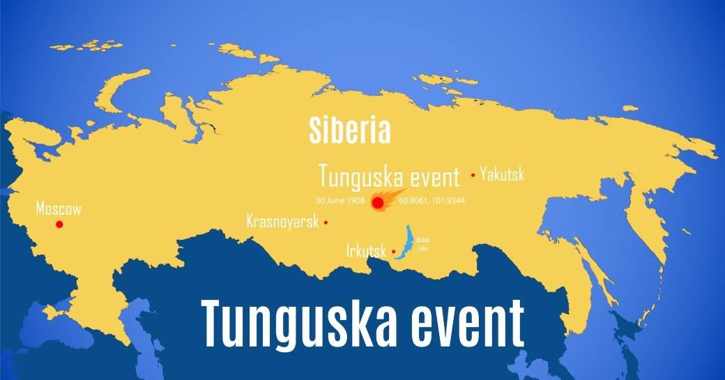 velika sibirska eksplozija tunguska eksplozija