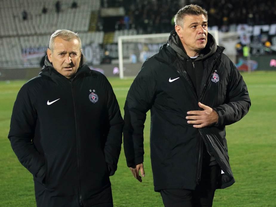 partizan, fudbal, đuričić, milošević