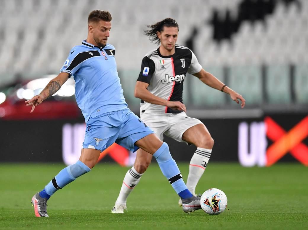 Juventus, Lacio, Sergej Milinković-Savić