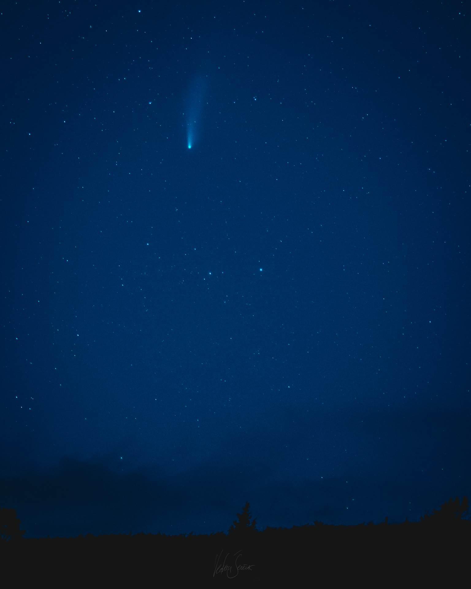 kometa, neowise, nebo,