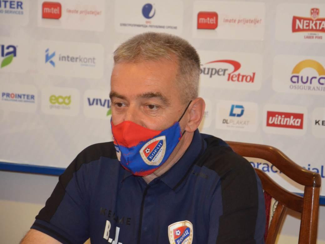 Vlado Jagodić, fk borac, fudbal, premijer liga bih, borac