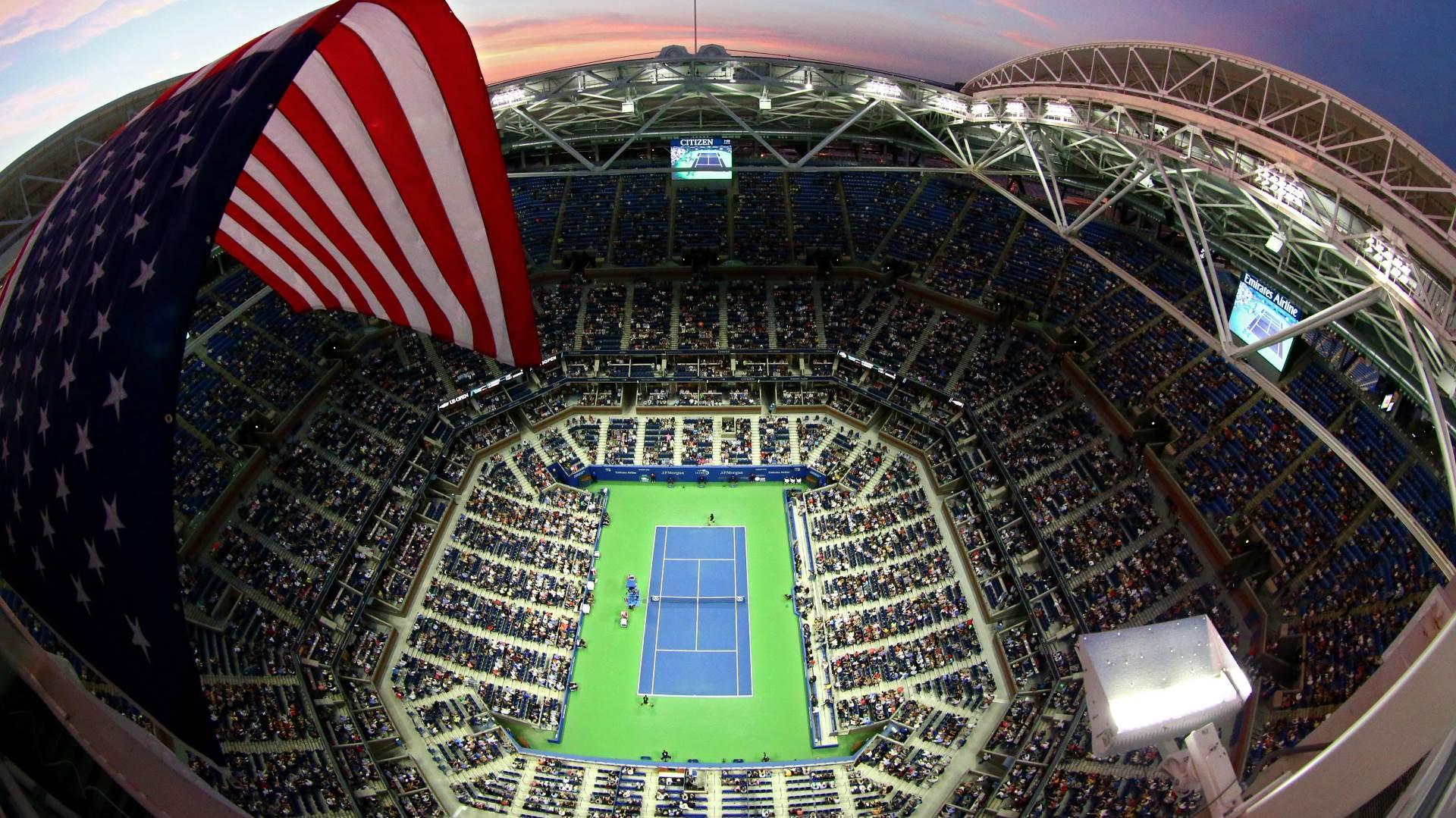 """Slika koju nećemo skoro videti - 15.000 navijača na najvećem teniskom stadionu sveta, """"Artur Ešu""""."""