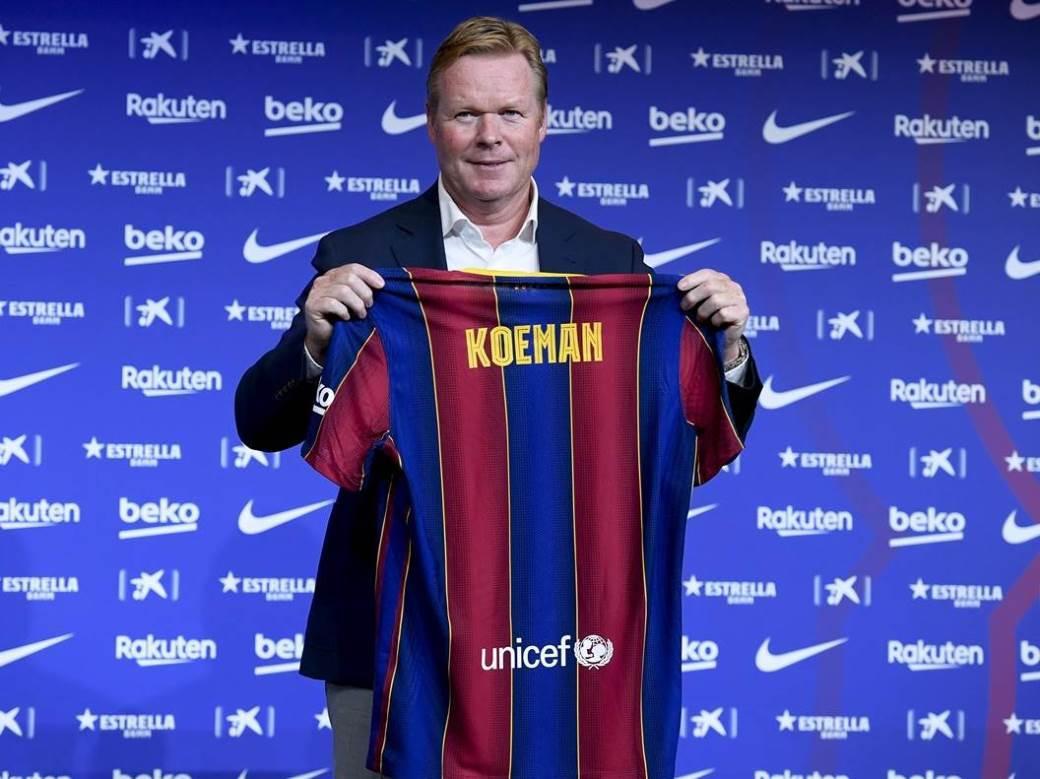 Ronald Kuman, Barselona, fudbal