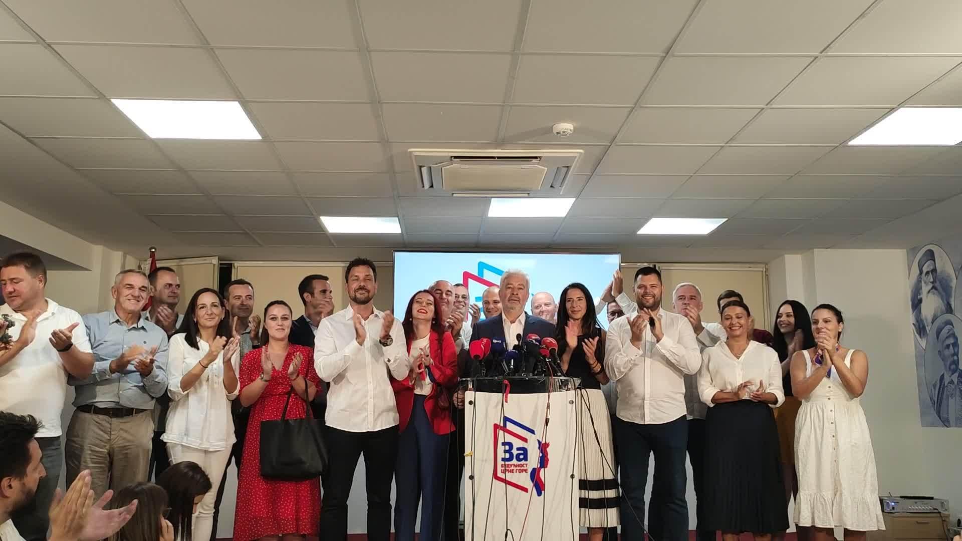 Krivokapić Crna Gora izbori (Info)
