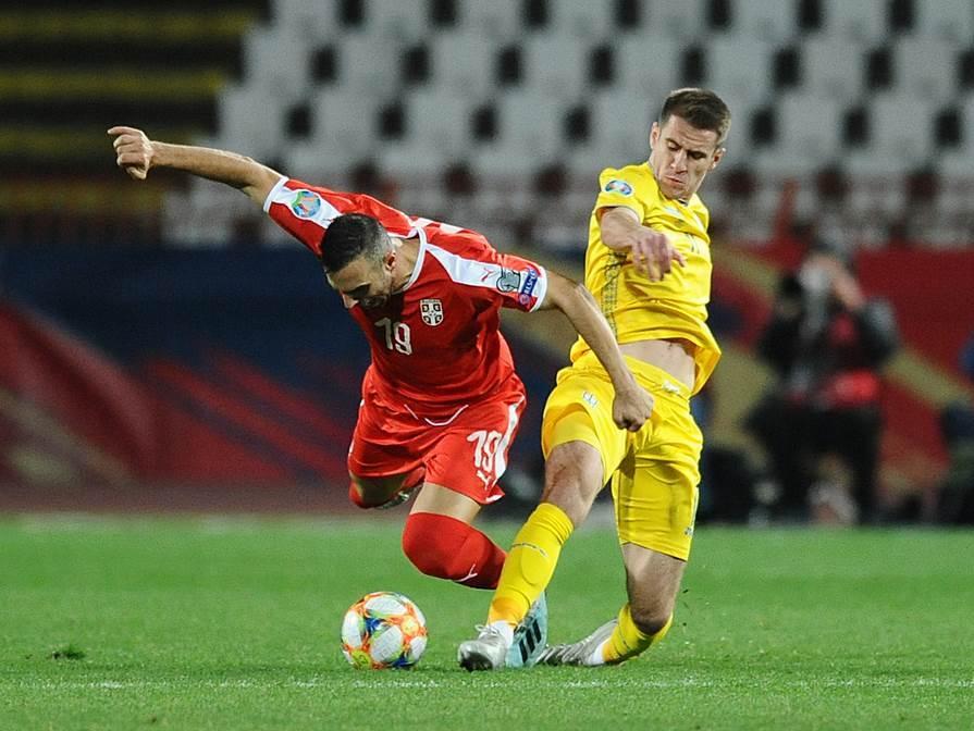 Fudbal, Srbija, Ukrajina