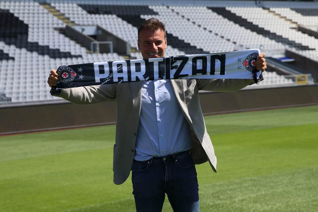 Aleksandar Stanojević, Partizan