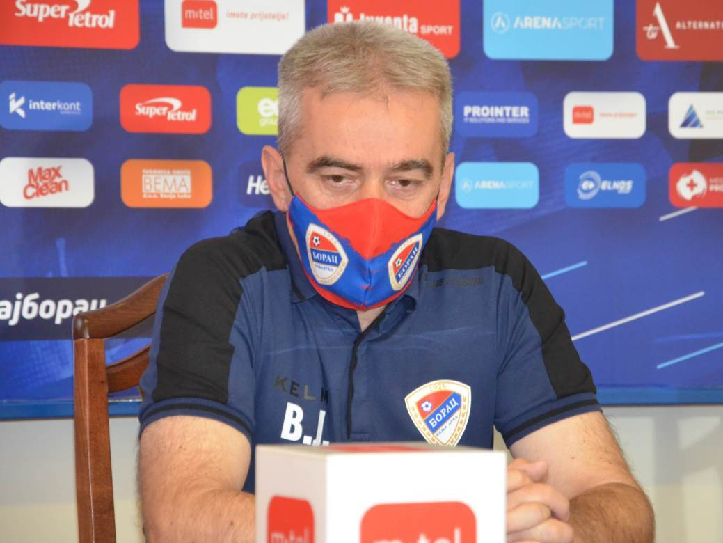 Vlado Jagodić, fudbal, FK Borac