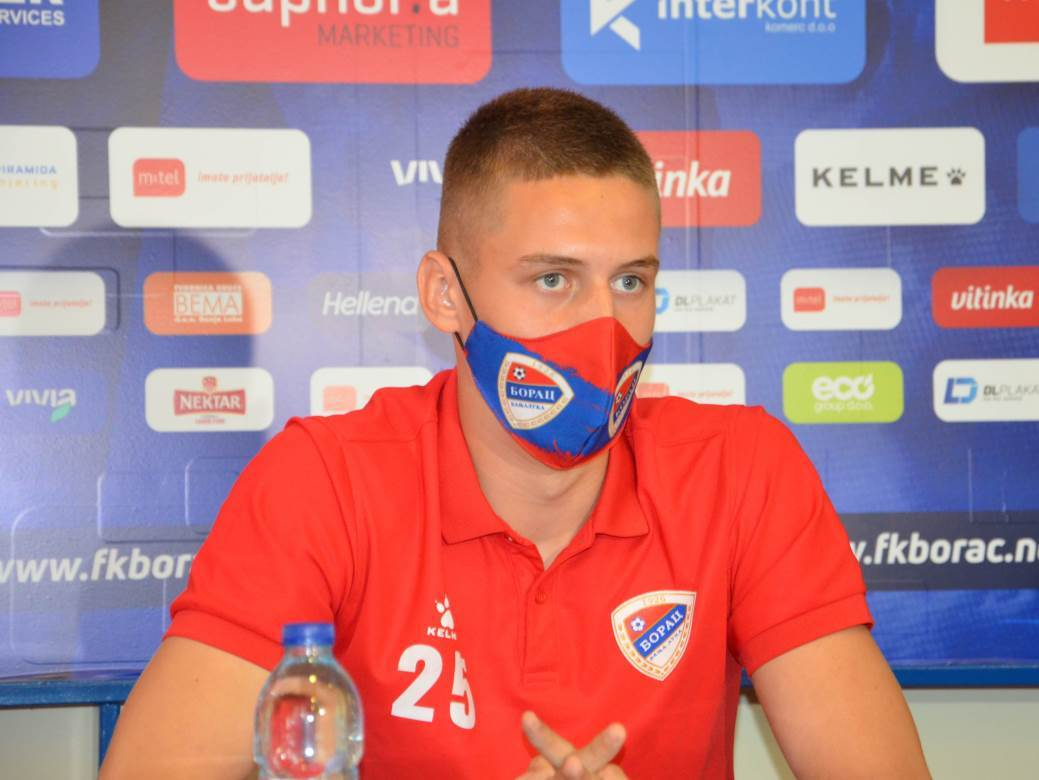 Luka Damjanović, Borac, FK Borac
