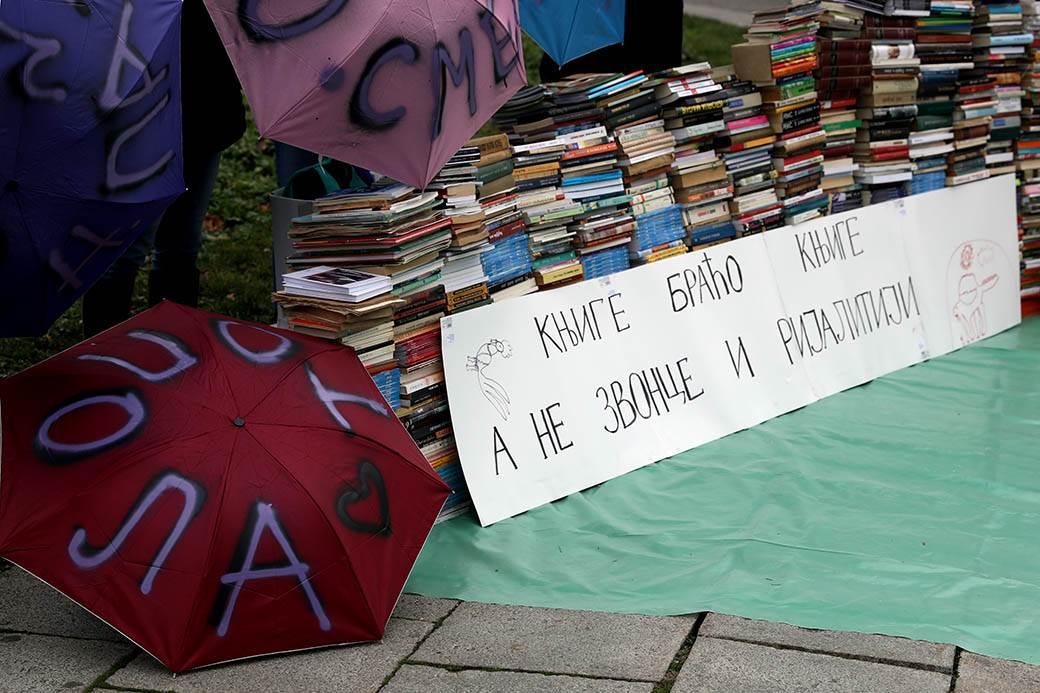 u ime kulture zid od knjiga protiv rijalitija srbija u pokretu