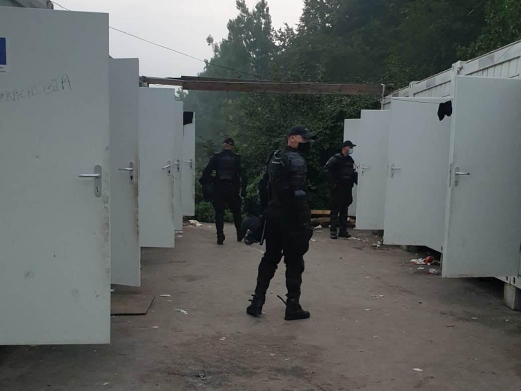 Blažuj, migrantski kamp