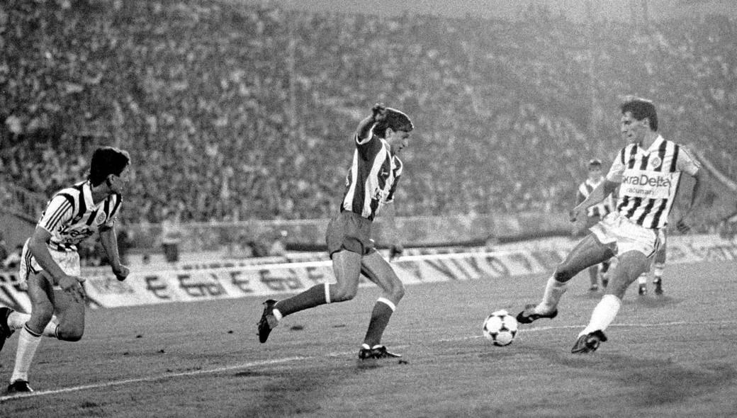 Partizan - Crvena zvezda 2:3, septembar 1987. Duel Bore Cvetkovića i Vladimira Vermezovića