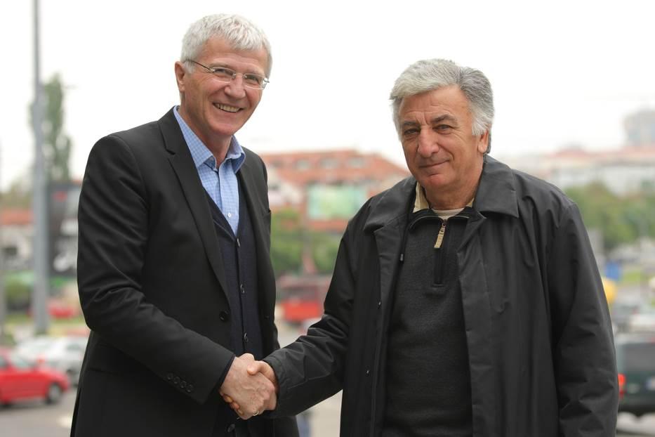 Zoran Filipović i Moca Vukotić