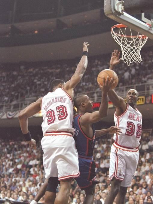 košarka, nba, 1997, majami, njujork, morning, anderson, čajlds