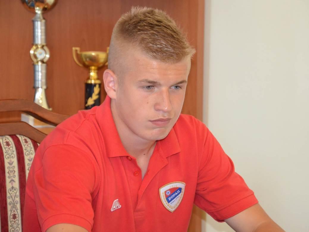 Vladan Danilović, Borac