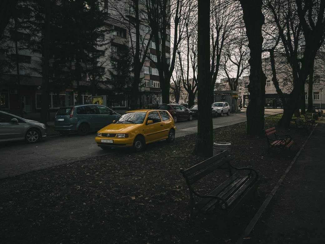 parking, klupa, saobraćaj, Banjaluka, Baterflaj, park