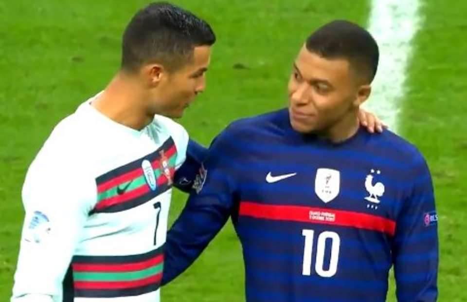 Ronaldo i Mbape.