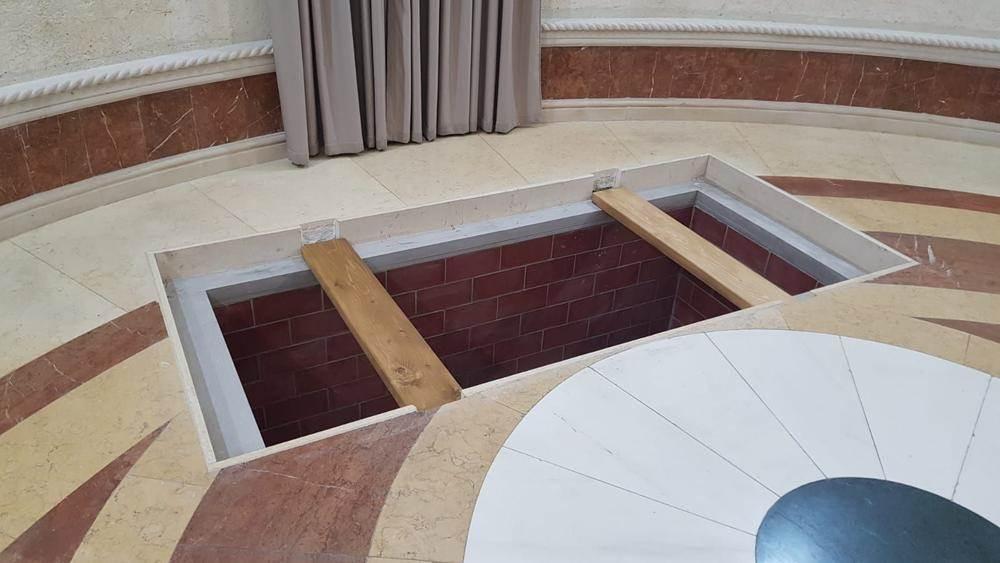 Kripta gde će počivati mitropolit Amfilohije