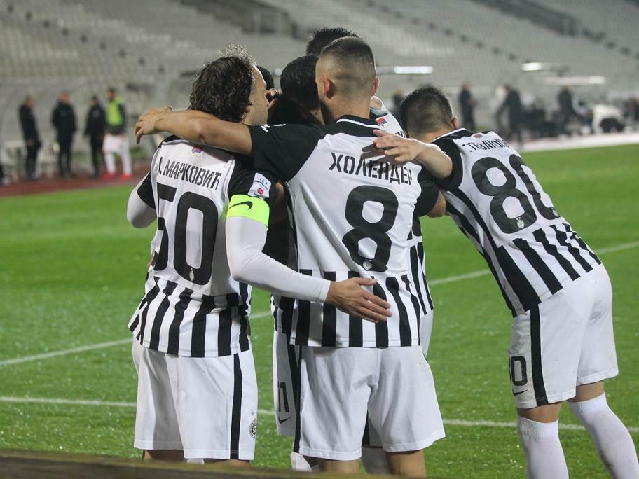 FOOTBALL;SUPERLEAGUE NATIONAL CHAMPIONSHIP;PARTIZAN;MACVA SABAC