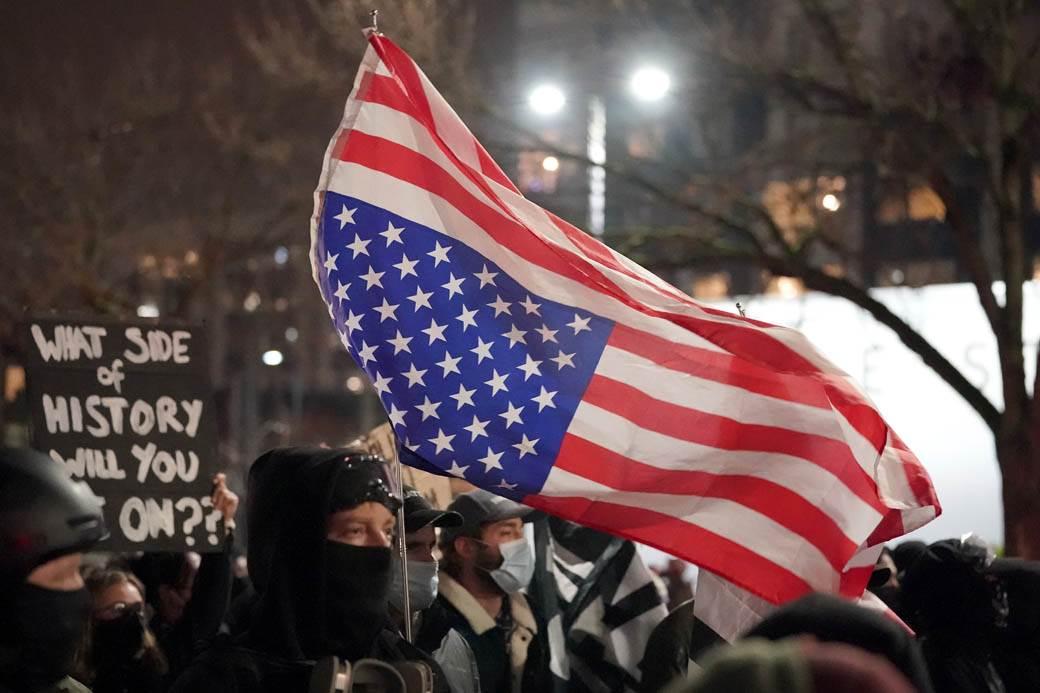 izbori amerika marš