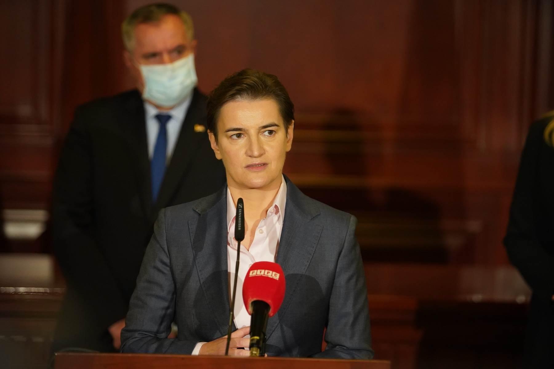 Vlada RS, Vlada Srbije, ana brnabić