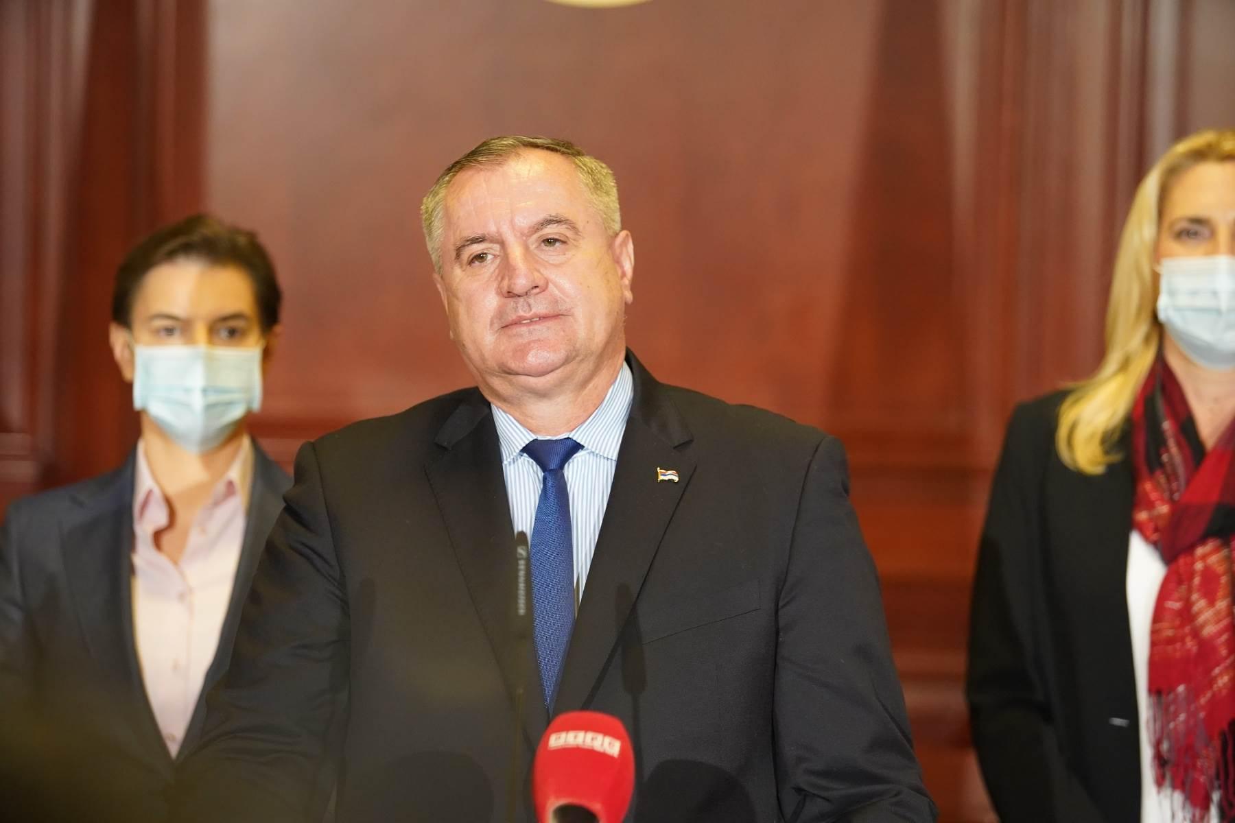 Vlada RS, Vlada Srbije, radovan višković