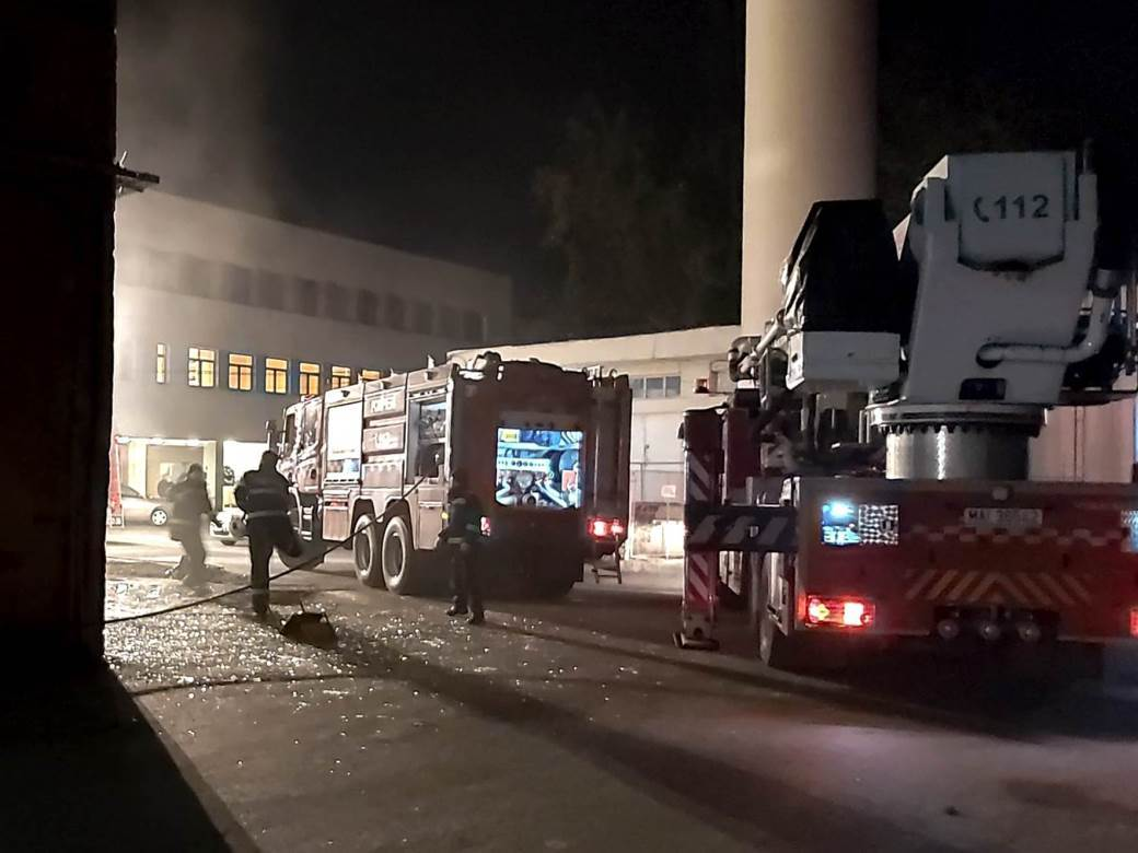 rumunija, požar