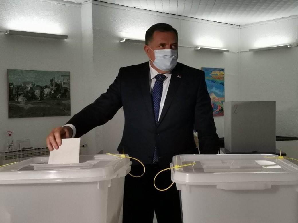 Milorad Dodik, izbori, glasanje